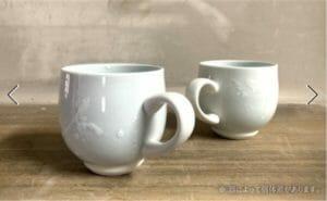 【有田焼】釉滴マグカップ グレー【井上萬二窯】